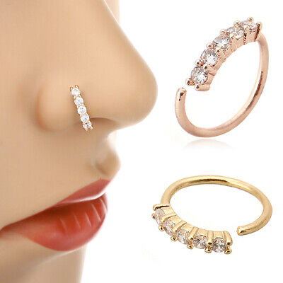 Tragus Piercing Ring Septum Nose Rings Helix Cartilage Daith Ear Studs Earring