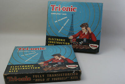 Vintage TRI-ONIC Triang Electronic construction Radio Kit