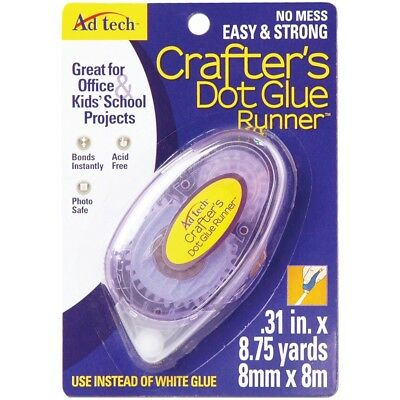 "Crafter's Dot Glue Runner-.31""x315"""