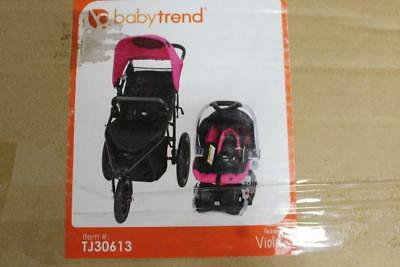 Baby Trend Stealth Jogger Travel System In Viola Pink, TJ30613