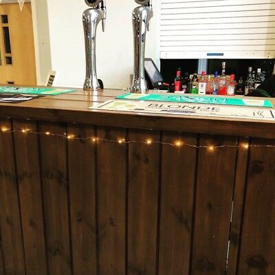 Stunning Mobile Bar drinks bar Indoor and Outdoor Solid Wood Easy to Assemble