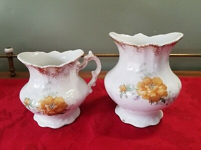 Vintage Warwick China-Floral  With Gold Trim Ceramic