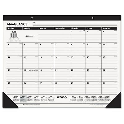 AT-A-GLANCE Ruled Desk Pad, 22 x 17, 2019