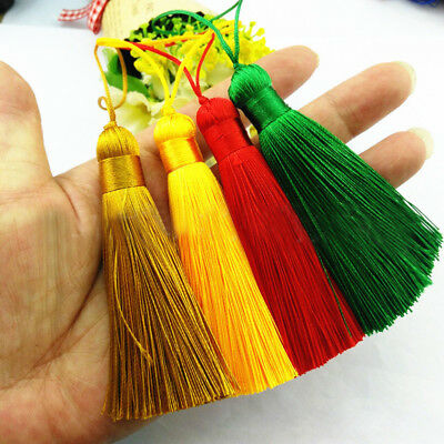 160mm Small Tassels Craft Color 1x Cushion Accessories Mini Hot! Long 16cm Key