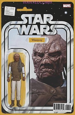 Star Wars #47 Christopher Action Figure Variant Cover Weequay Comic Book New 1