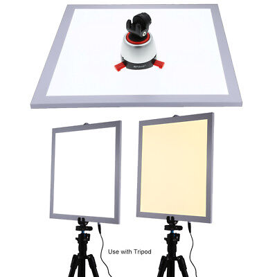 """PULUZ 15"""" Dimmable Shadowless Photography LED Light Lamp Studio Panel Backdrop"""