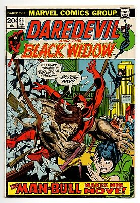 Daredevil Vol 1 No 95 Jan 1973 (VFN-) (7.5) Marvel, Bronze Age (1970-1979)