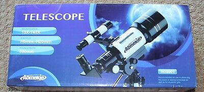 Aomekie 70Mm Portable Telescope Ao2001 15X-140X 70Mm 300Mm Moon Watching Bnib