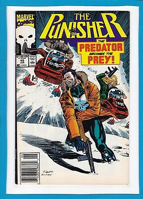 """The Punisher #49_June 1991_Very Fine+_""""the Predator Becomes The Prey""""!"""
