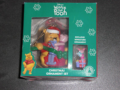 Disney Retro 90er Winnie The Pooh Christmas Ornament Weihnachten Anhänger Neu