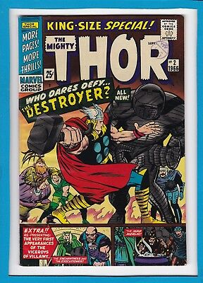 Mighty Thor King-Sized Annual #2_September 1966_Very Fine Minus_The Destroyer!