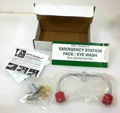 Faucet Mount Emergency Eyewash Fountain OK-IIE Opti-Klens II  NEW in box