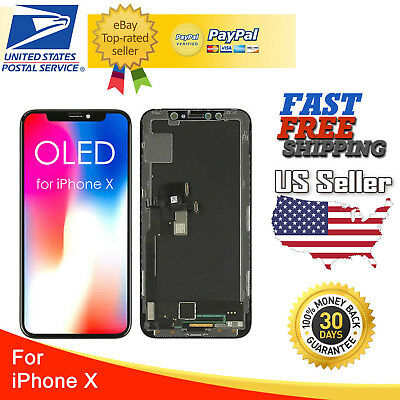 OEM Original OLED LCD Display Touch Screen Digitizer Replacement For iPhone X 10