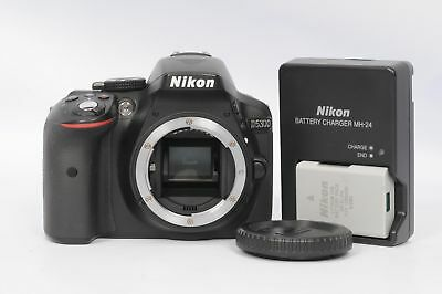 Nikon D5300 24.2MP Digital SLR Camera Body                                  #697