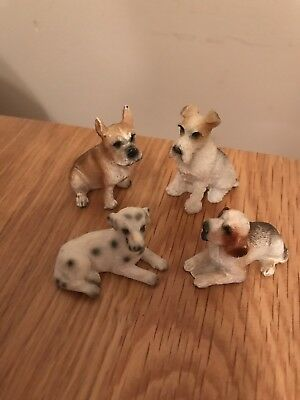 miniture Pottery Dogs
