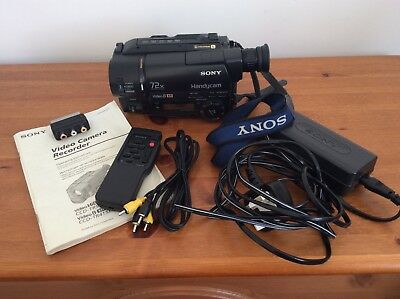 Sony 8Xr Ccd-Tr425E Video Camera Recorder + All Accessories & Manual Excellent