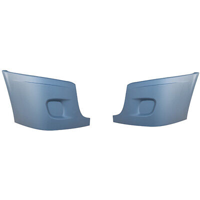 Freightliner Cascadia Bumper Corner  Without Hole Pair Left And Right Set