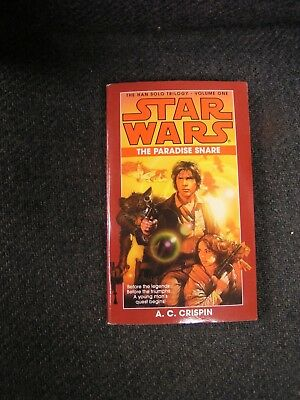 Star Wars Paperback Book The Paradise Snare