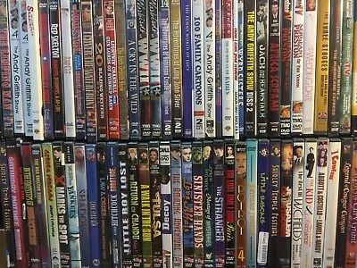 *FREE SHIPPING! HUGE Collection Lot of 100 DVDS ASSORTED OLD MOVIES TV  BUDGET