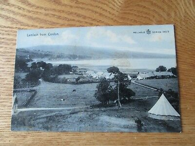 Postcard of Lamlash from Cordon (posted 1909