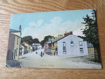 Postcard of Gisburn Village (Posted 1907)