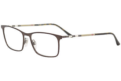 92bba06cef Burberry Eyeglasses BE1309Q BE 1309 Q 1212 Brushed Brown Optical Frame 54mm