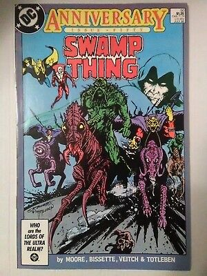Swamp Thing #50 (DC 1986) 1st Justice League Dark CONSTANTINE, ALAN MOORE