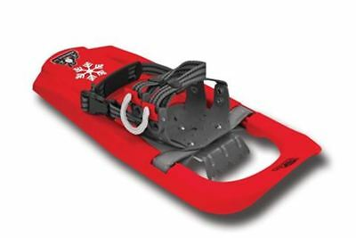 Yukon Charlie's SNOWSQUALL YOUTH SNOWSHOE KIT - RED