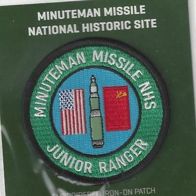 Minuteman Missile National Historic Site Souvenir Junior Ranger Patch