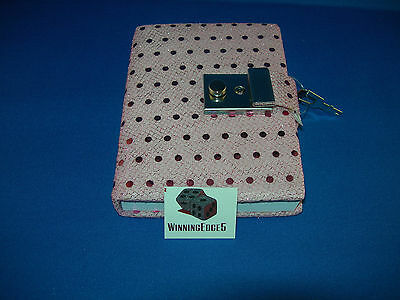 New Pink Sequin Diary With A Built In Lock And 1 Key Free Ship