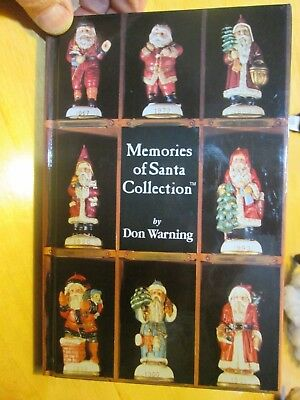 Memories of Santa Collection™ Christmas Ornament Book, 1992  Christmas Reproduc.