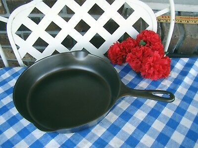 Griswold Cast Iron #7 Large Block Logo Skillet with Heat Ring – Cleaned/Seasoned