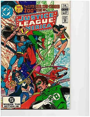 JUSTICE LEAGUE OF AMERICA #200 (Mar 1982) Very Good
