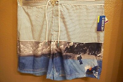Nautica Mens Swim Trunks Shorts Size XXL Quick Dry NWT Built in Brief