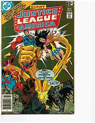 JUSTICE LEAGUE OF AMERICA #152 (Mar 1978) Very Good