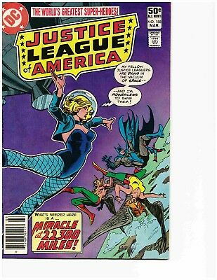 JUSTICE LEAGUE OF AMERICA #188 (Mar 1981) Very Good-