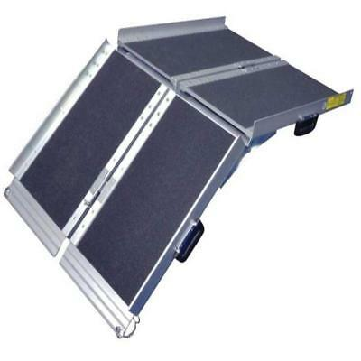 Aidapt 1,220mm Portable Aluminum Folding Suitcase Wheelchair Ramp