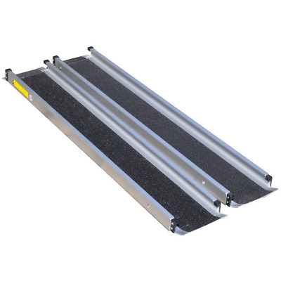 Aidapt 1,220mm Aluminium Telescopic Wheelchair Ramps