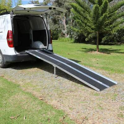 Heeve Aluminium Multi-Fold Super-Grip Walk Ramp, 272kg Capacity
