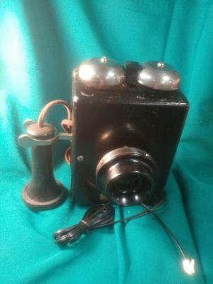 Western Electric Hotel Wall Phone, Non-Dialer, Tested-Works