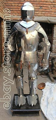 Medieval Knight Suit Of Armor Gothic Templar Combat Full Body Armour War Costume