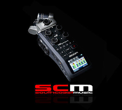 Zoom H6 Handy Recorder Interchangeable Microphone System Dslr