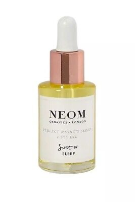 Neom Organics London Perfect Night's Sleep Face Oil 28ml. Brand New + Boxed
