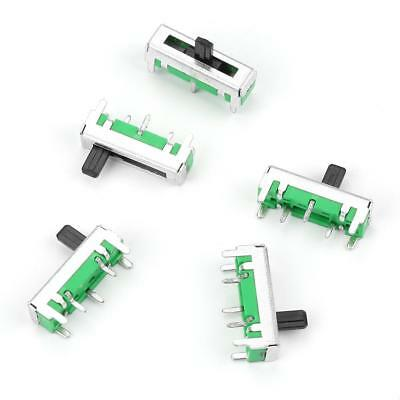 5Pcs Linear Type Single Straight Slide Potentiometer 18mm/45mm/60mm/75mm B10K