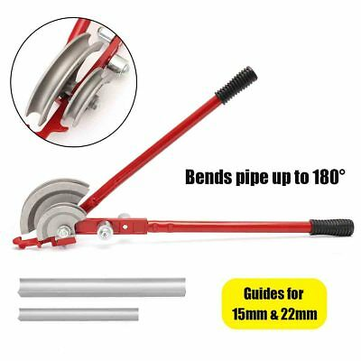 15/22mm Plumbing Pipe Heavy Duty Tube Bender Manual Tubing Bench Mount Molder UK