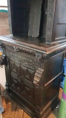 Early Oak Dresser 76inch Tall  from scottish hall,very old