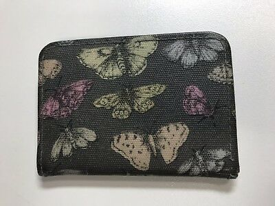 Pretty Paperchase Butterfly Print Rail Card Travel Pass Oyster Case