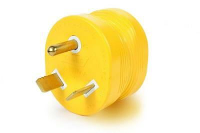 Camco 55233 RV 30M/15F Amp Power Grip Adapter