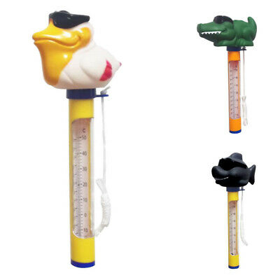 Thermometer Floating Swimming Pool Water Hot Tub 160mm PVC 12x 160mm Durable