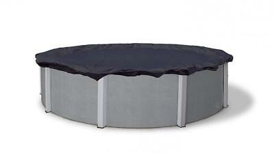 Blue Wave BWC708 Bronze 8-Year 24-ft Round Above Ground Pool Winter Cover